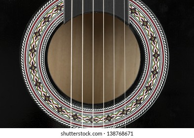 Guitar Body Sound Hole