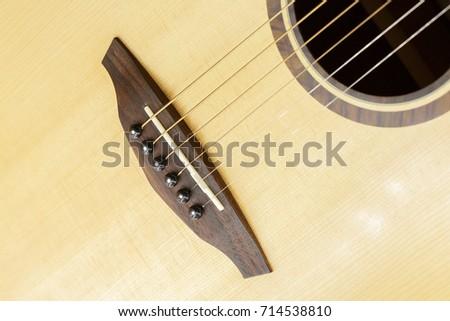 Guitar Bridge Saddle Pin Stock Photo Edit Now 714538810 Shutterstock