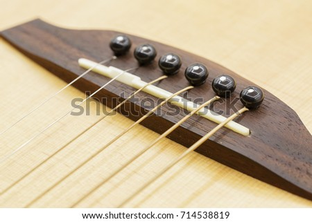 Guitar Bridge Saddle Pin Stock Photo Edit Now 714538819 Shutterstock