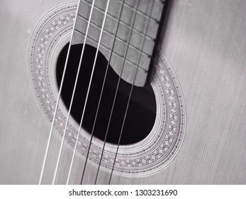 Guitar in close up