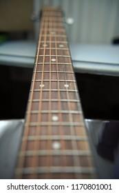 Guitar Fretboard Rosewood long view