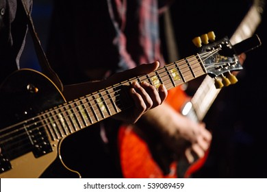 Guitar in hands