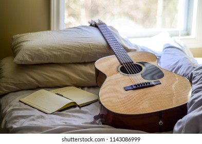 Guitar Journal Songwriting Acoustic Lifestyle