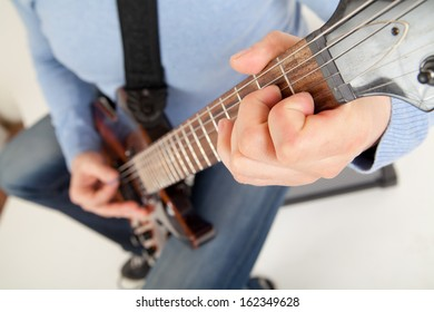 guitar player playing
