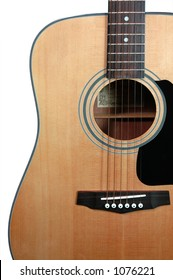 Guitar  (with clipping path)