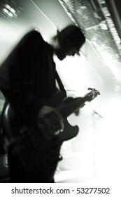 Guitarist at Noorderslag Live Festival