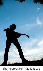 guitarist outdoor