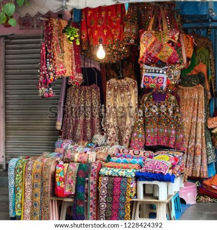 Gujrati Handicrafts Shop New Delhi Stock Photo Edit Now 1228424392