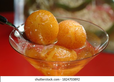 Gulab jamun is a milk-solid-based sweet from the Indian subcontinent, and a type of mithai, popular in India, Nepal, Pakistan, the Maldives, and Bangladesh