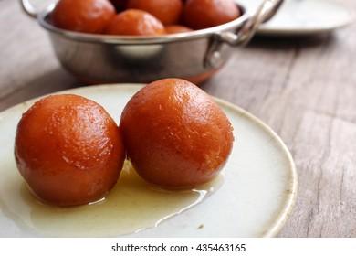 Gulab jamuns indian desserts