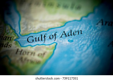 Gulf Of Aden Map Stock Photos Images Photography Shutterstock