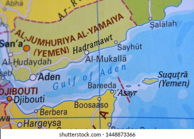 Gulf of Aden Map Stock Photos, Images & Photography | Shutterstock