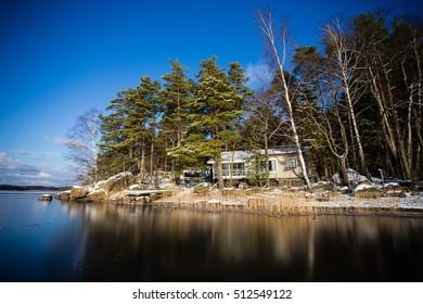 Gulf of Finland Virolahti Winter