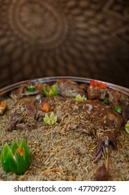 Gulf food - Kabseh with lamb
