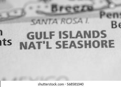 Gulf Islands National Seashore. Alabama. USA