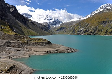 Gulf of Mooserboden in the Hohe Tauern. Austria. Europe.
