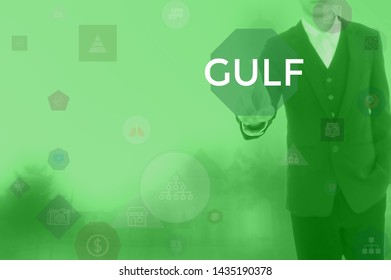 GULF - technology and business concept