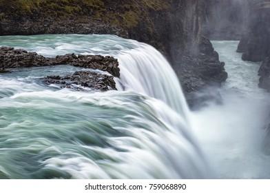 Gullfoss, Iceland, Europe