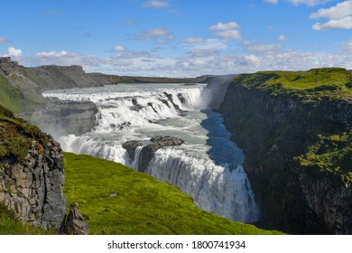 Gullfoss waterfall and a different perspective on iceland