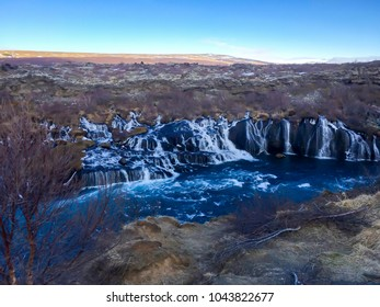 Gullfoss waterfall , one of the most popular tourist attractions in Iceland