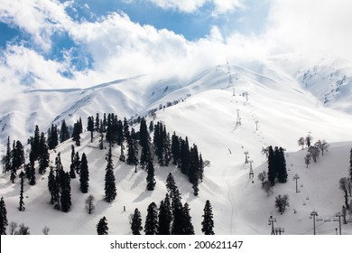 Gulmarg Cable Car at Kashmir , India