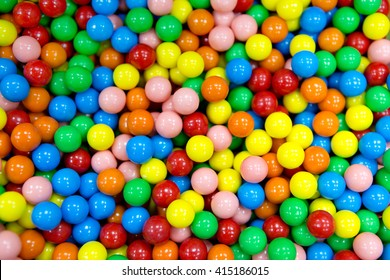 a lot of gum sweet candy