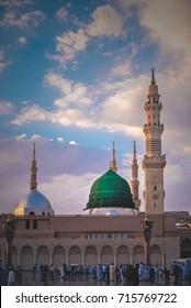Gumbad e Khazra Madina Munawara Saudi Arabia