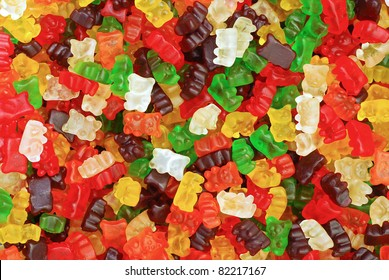 gummy bears background