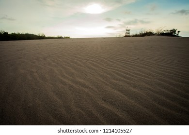 Gumuk Pasir, a popular tourist destination in Jogjakarta. The main attraction is sand dune both for viewing, photo spot, or sports activities.