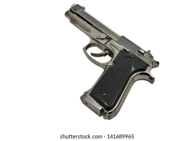 gun, isolated on a white background