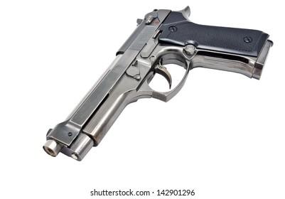 gun, isolated on white background