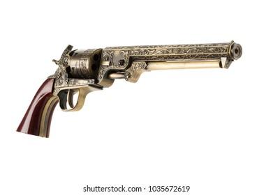 Gun Lighter isolated on white