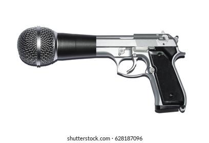 Gun and microphone hybrid