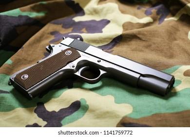 Gun military background