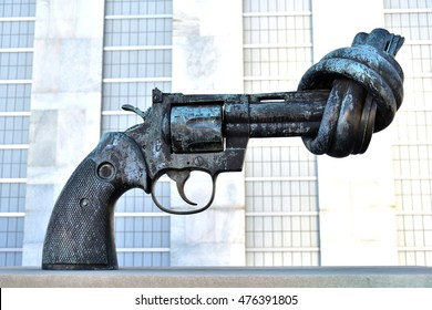 The gun for peace