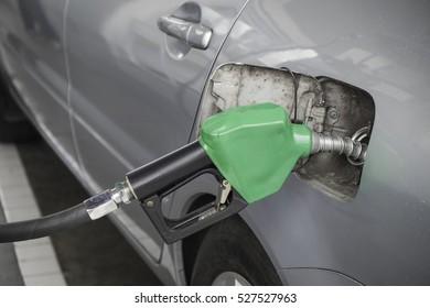 Gun petrol in the tank to fill