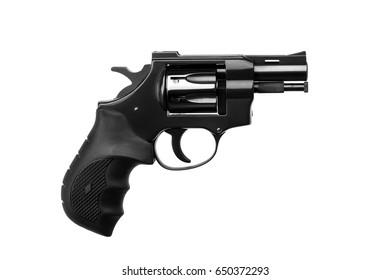 Gun  pistole isolated on white background