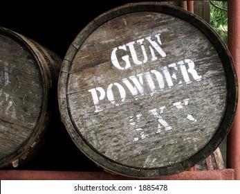 Gun Powder Barrel - True remnants of past power.