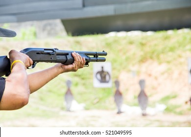 gun shooting shotgun sport training