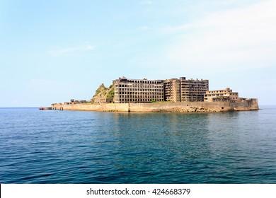 Gunkanjima - Battleship Island in Nagasaki, Japan (UNESCO World Heritage)
