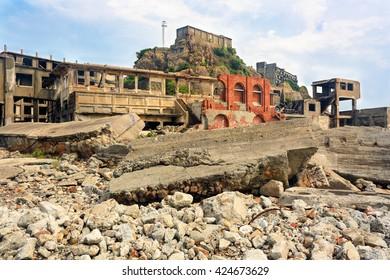 Gunkanjima - Battleship Island - Nagasaki, Japan (UNESCO World Heritage)