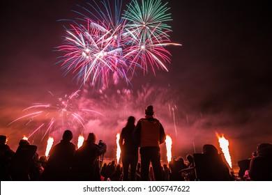 Gunning Fireworks Festival