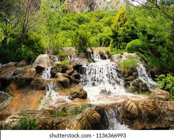 gunpinar waterfall in Turkey, Malatya-Darende