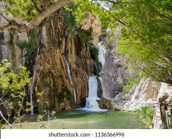 gunpinar waterfall in Turkey, Malatya-Darende