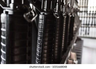 Guns in the arsenal