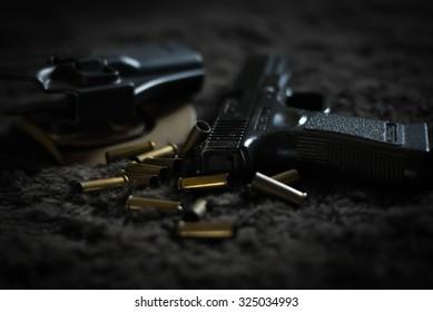 Guns background