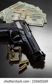 Guns And Money Images Stock Photos Vectors
