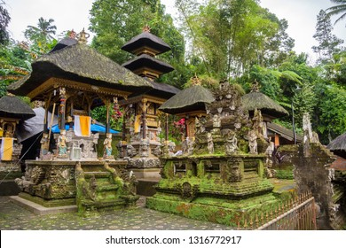 Gunung Kawi Sebatu Temple, Ubud, Bali, Indonesia. The temple complex is located within the highland village of Sebatu in Tegallalang, Gianyar, approximately 12km northeast from the main Ubud hub.