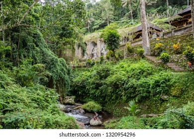 Gunung Kawi Temple complex, locally referred to as Pura Gunung Kawi comprises a collection of ancient shrine reliefs carved into the face of a rock cliff.