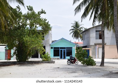 Guraidhoo - Thaa Atoll - Maldives - This is one of the indigenous islands of the Maldives. The locals are sort of poor.